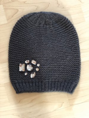 Hallhuber Knitted Hat anthracite
