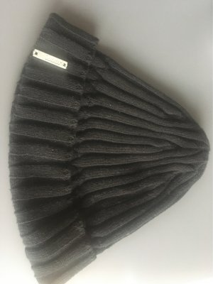 Joop! Sombrero de punto negro