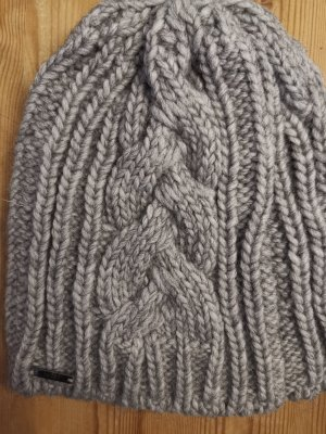 Joop! Knitted Hat grey-light grey