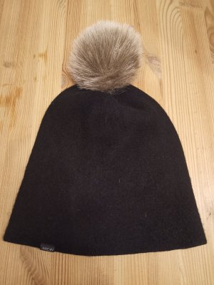 Marc Cain Fabric Hat black