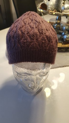 Mexx Knitted Hat bordeaux-russet