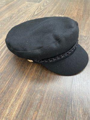 Pull & Bear Cappello con visiera nero