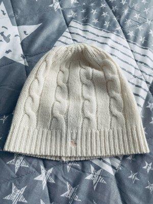 Ralph Lauren Knitted Hat natural white