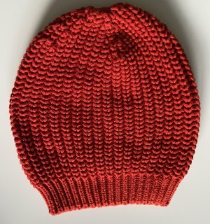 Sixty Beanie red cotton