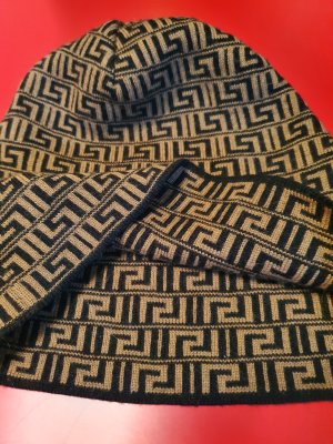 Versace Beanie black-bronze-colored