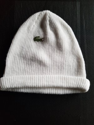 Lacoste Knitted Hat white