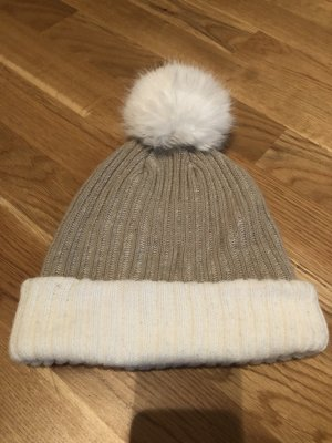 Mütze weiß/beige