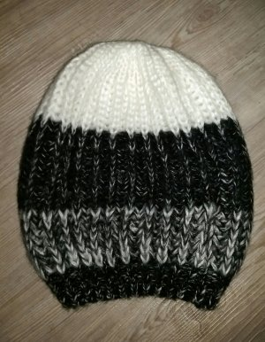 Mütze Wollmütze 24colours schwarz grau weiß