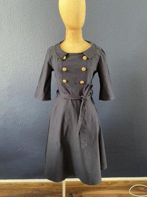 MUISOL Kleid Gr. L dunkelblau top Zustand