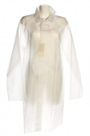 Muji Heavy Raincoat natural white casual look