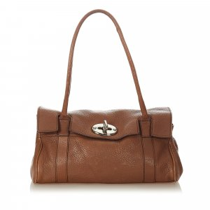 Mulberry Sac porté épaule brun cuir