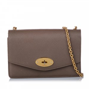 Mulberry Bayswater Leather Wallet on Chain