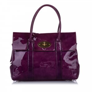 Mulberry Bayswater Patent Leather Handbag