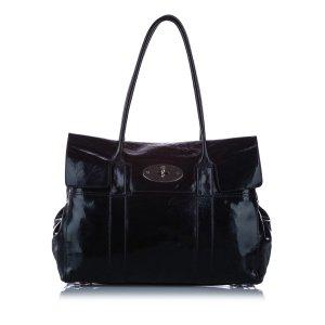 Mulberry Sac porté épaule noir faux cuir