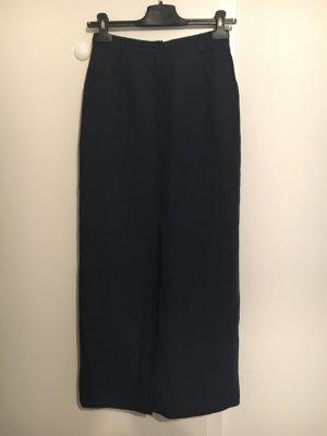 Mulberry Pencil Skirt dark blue cotton