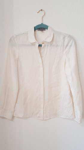 Mulberry Silk Blouse gold-colored-natural white