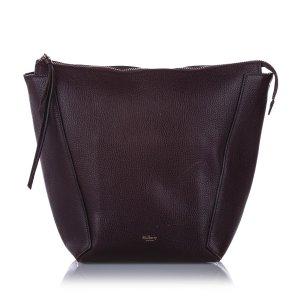 Mulberry Sac porté épaule bordeau cuir