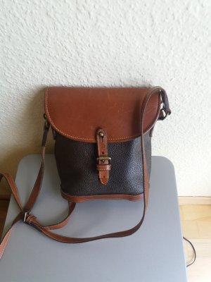Mulberry Bolsa de hombro verde oscuro-marrón claro Cuero