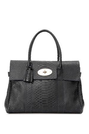 Mulberry Embossed Leather Bayswater Handbag