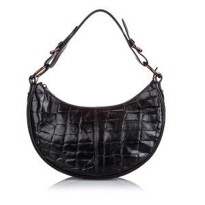 Mulberry Shoulder Bag black leather