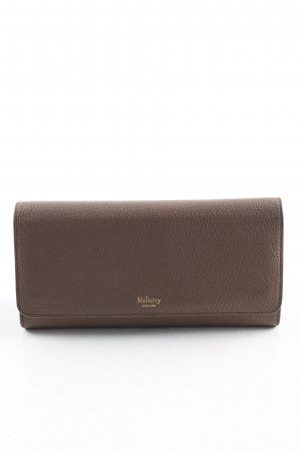 Mulberry Wallet brown casual look