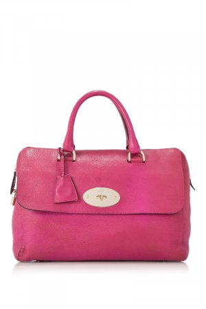 Mulberry Handbag pink leather