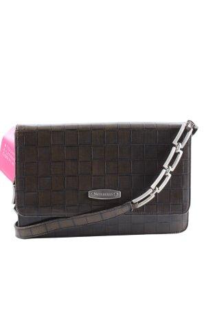 Mulberry Handtasche braun Motivdruck Business-Look