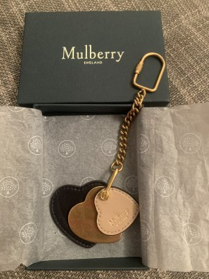 Mulberry Key Chain rose-gold-coloured-black
