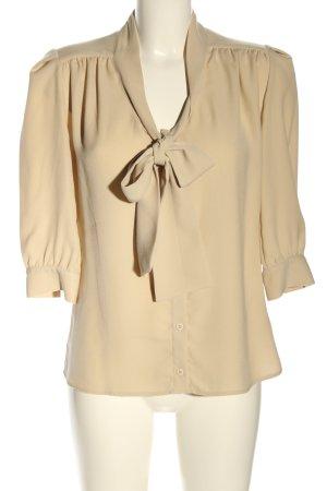 Mulberry Camicia blusa crema stile professionale