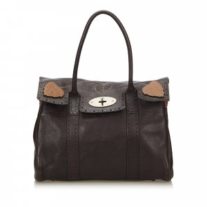 Mulberry Shoulder Bag brown leather