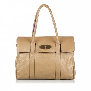 Mulberry Borsa a tracolla beige Pelle