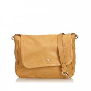 Mulberry Crossbody bag light brown leather