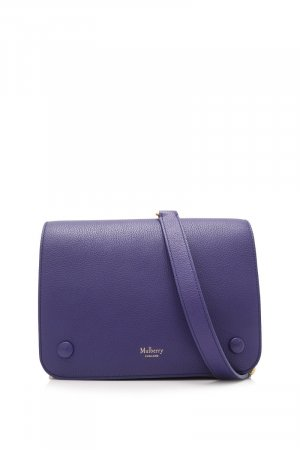 Mulberry Crossbody bag blue leather