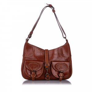 Mulberry Hobos brown leather