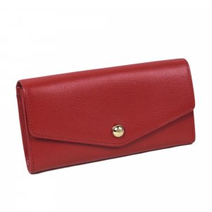 Mulberry Portefeuille rouge cuir