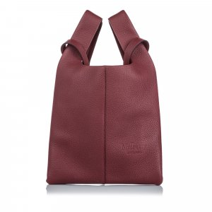 Mulberry Sac fourre-tout rouge cuir
