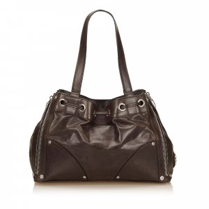 Mulberry Tote dark brown leather