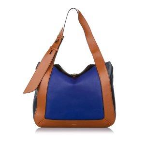 Mulberry Bolso de compra azul Cuero
