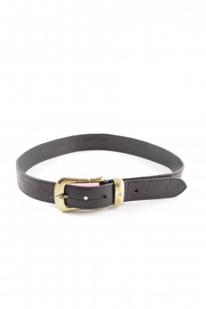 Mulberry Leather Belt black business style