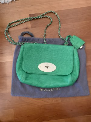 Mulberry Handbag green leather