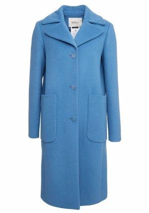 Mulberry Cappotto in lana blu fiordaliso-blu acciaio