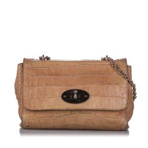 Mulberry Medium Embossed Lily Shoulder Bag