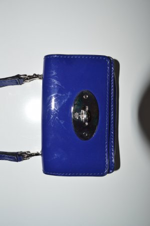 Mulberry Mini Bag blue synthetic material