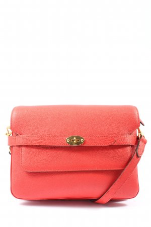 Mulberry Minibolso rojo look casual