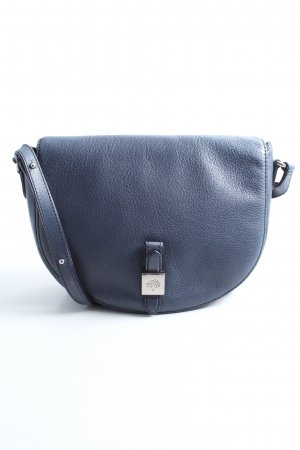 Mulberry Messengerbag blue casual look