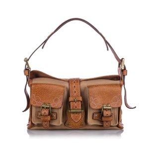 Mulberry Roxanne Canvas Handbag