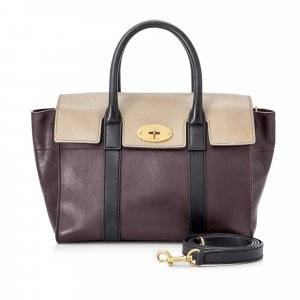 Mulberry Small New Bayswater Leather Satchel