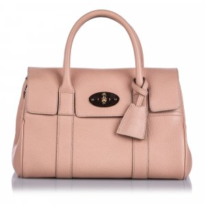 Mulberry Satchel pink leather