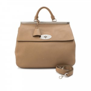 Mulberry Small Suffolk Leather Satchel