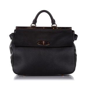 Mulberry Satchel black leather